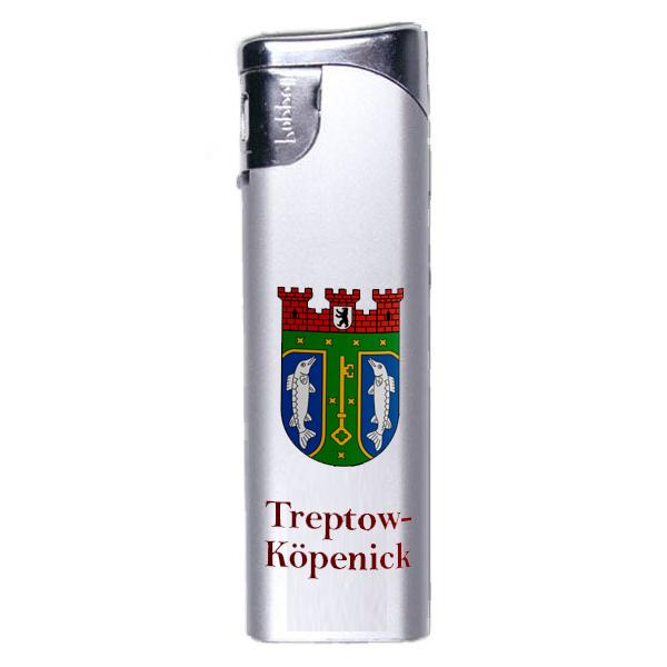 Feuerzeug Treptow Köpenick Wappen