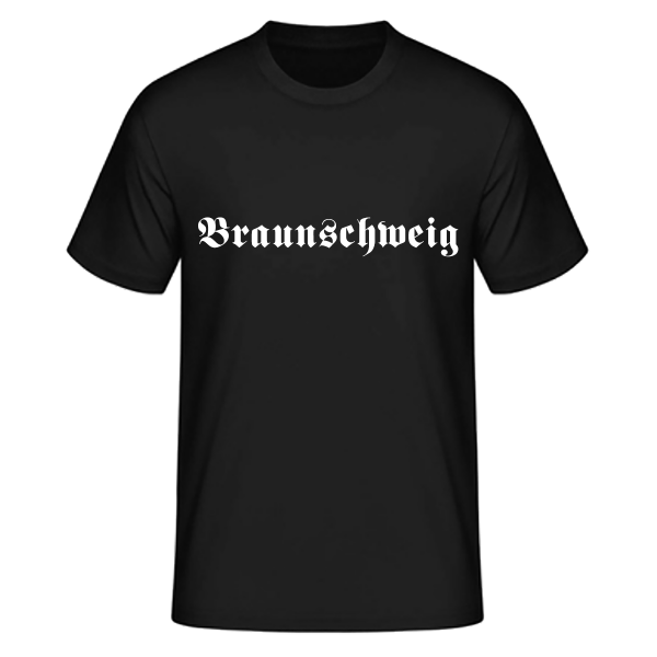 "Unisex T-Shirt Altdeutsch ""Braunschweig"""