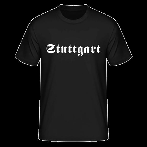 """Unisex T-Shirt Altdeutsch """"Stuttgart"""""""