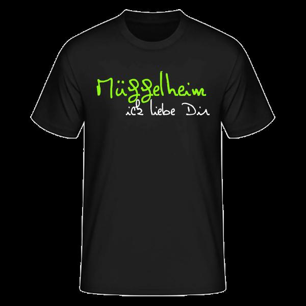 T-Shirt Müggelheim Ick Liebe Dir