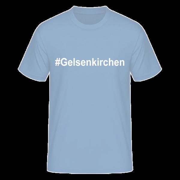 T-Shirt Kurzarmshirt #Gelsenkirchen