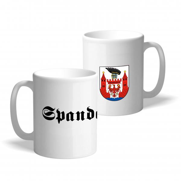 Tasse Wappen: Spandau
