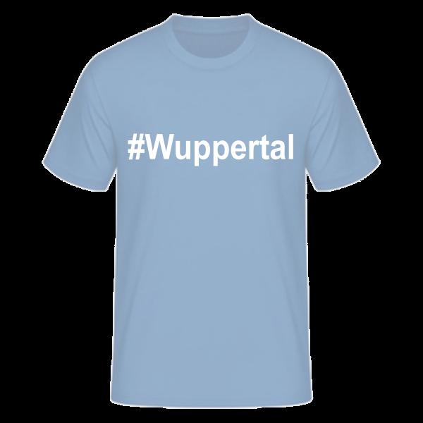 T-Shirt Kurzarmshirt #Wuppertal