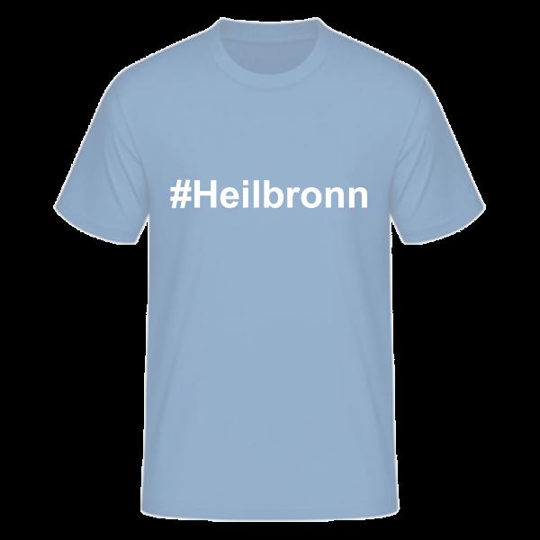 T-Shirt Kurzarmshirt #Heilbronn
