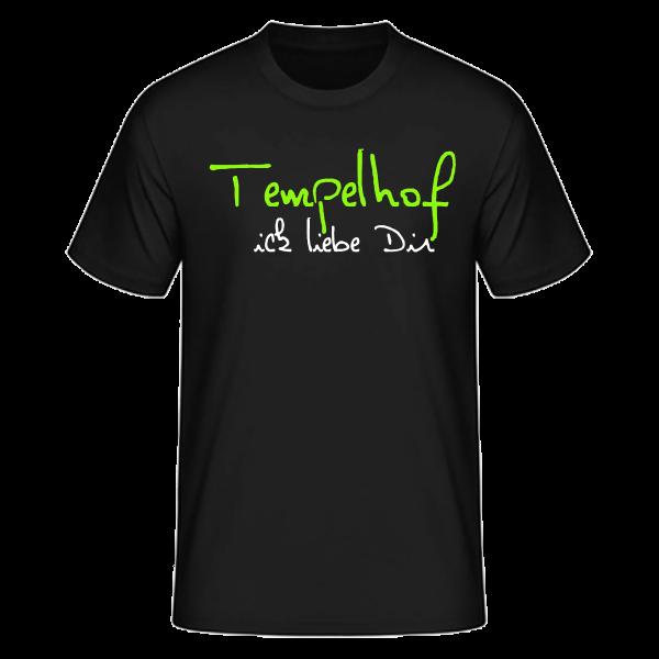 T-Shirt Tempelhof Ick Liebe Dir