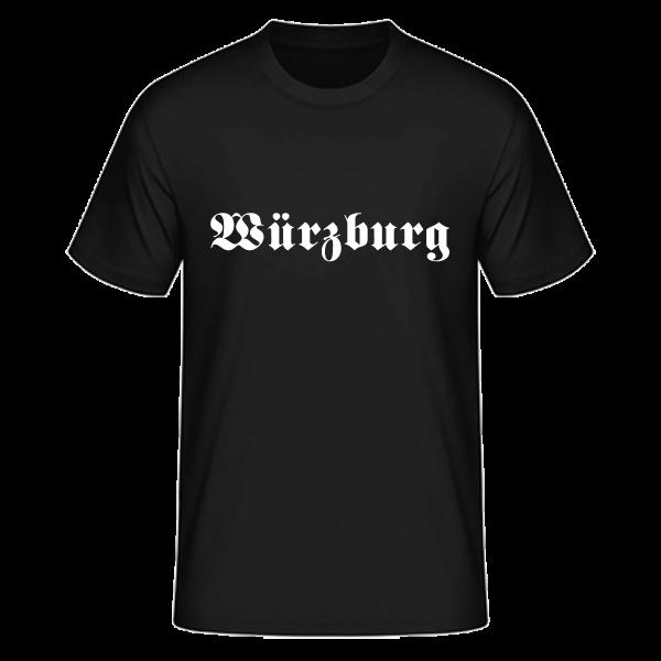 "Unisex T-Shirt Altdeutsch ""Würzburg"""