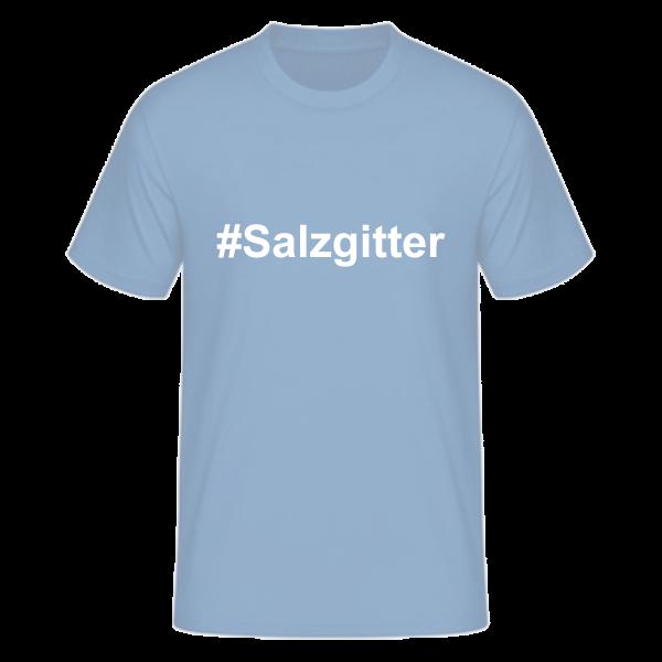 T-Shirt Kurzarmshirt #Salzgitter