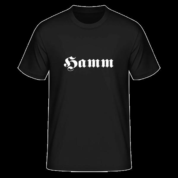 """Unisex T-Shirt Altdeutsch """"Hamm"""""""