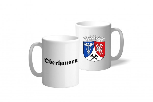 Tasse Wappen: Oberhausen