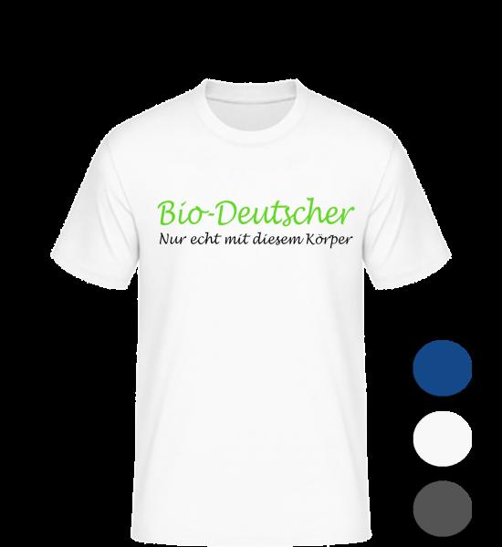 T-Shirt Bio-Deutscher