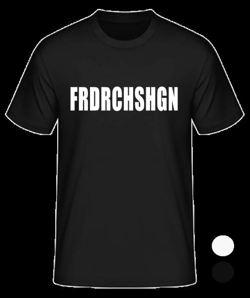T-Shirt Konsonanten Friedrichshagen