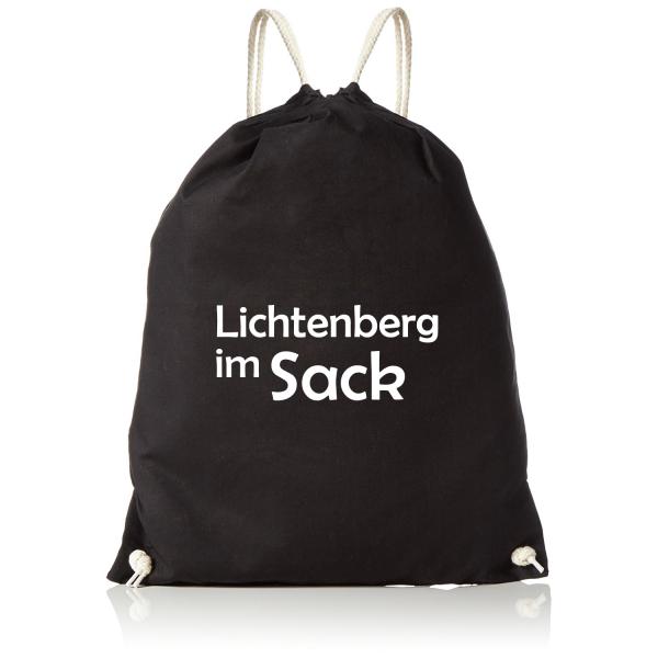 Lichtenberg im Sack - Sportbeutel