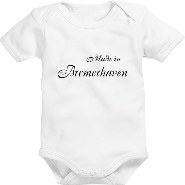 Baby Body: Made in Bremerhaven