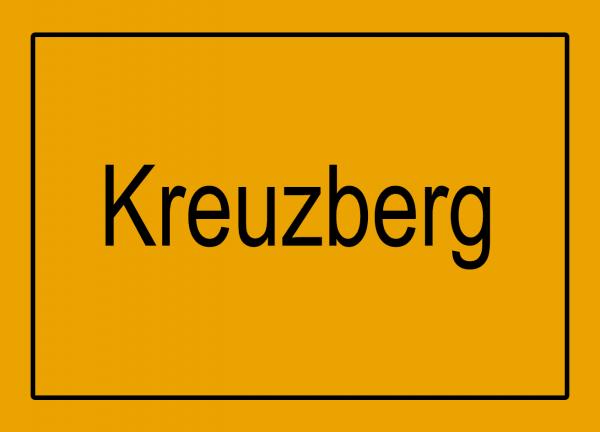 Aufkleber - Ortseingang Kreuzberg