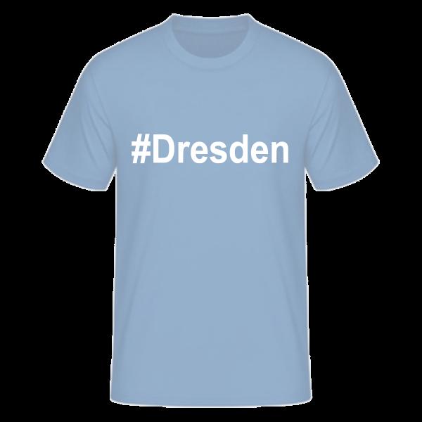 T-Shirt Kurzarmshirt #Dresden