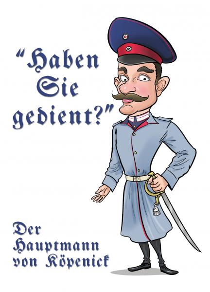 Aufkleber Hauptmann von Köpenick - Militär