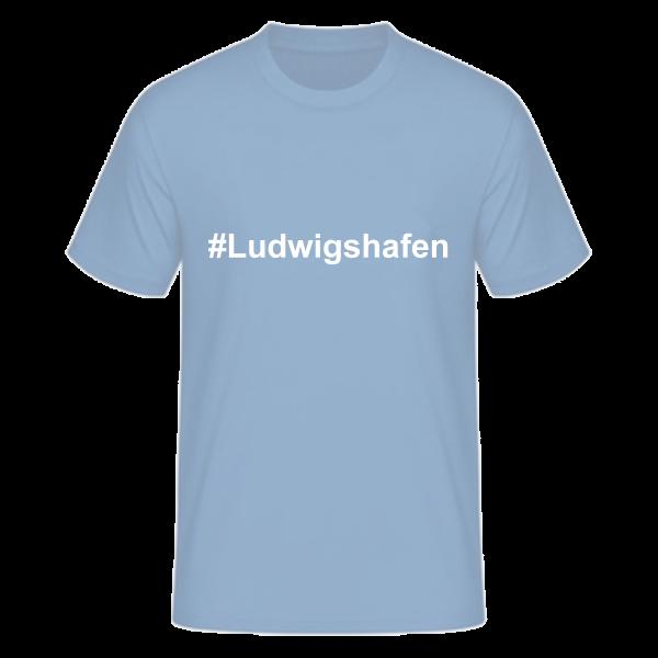 T-Shirt Kurzarmshirt #Ludwigshafen