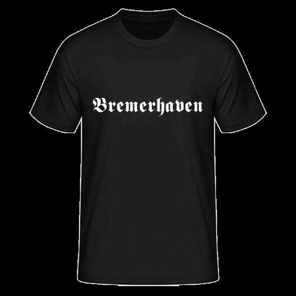 """Unisex T-Shirt Altdeutsch """"Bremerhaven"""""""