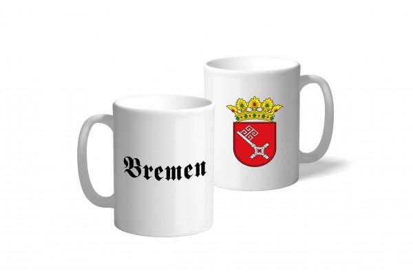 Tasse Wappen: Bremen