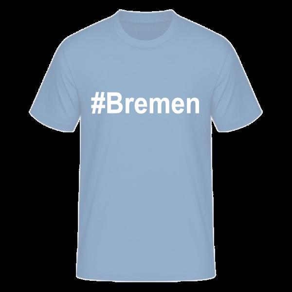 T-Shirt Kurzarmshirt #Bremen