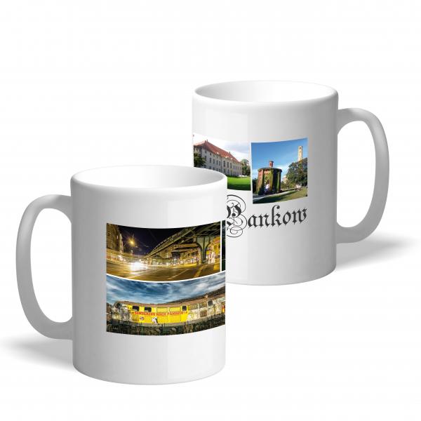 "Moderne Fotodruck-Tasse ""Pankow-Collage"""