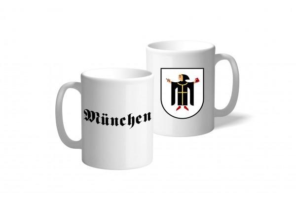 Tasse Wappen: München
