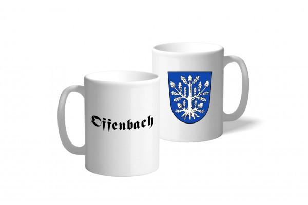 Tasse Wappen: Offenbach