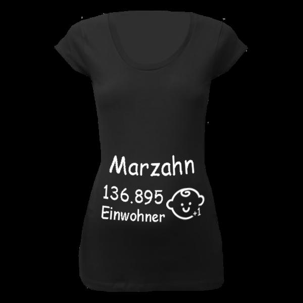 Marzahn Einwohner + 1 T-Shirt für Schwangere Frauen