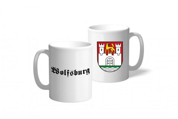 Tasse Wappen: Wolfsburg