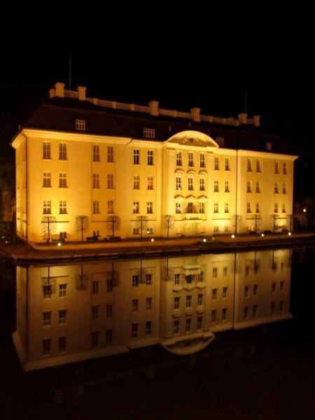 Aufkleber - Schloss Köpenick Nacht