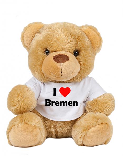 Teddy - I love Bremen - Plüschbär Bremen