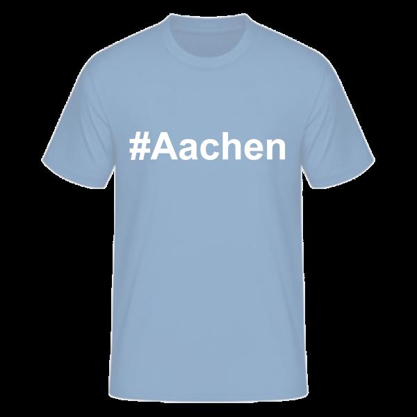 T-Shirt Kurzarmshirt #Aachen