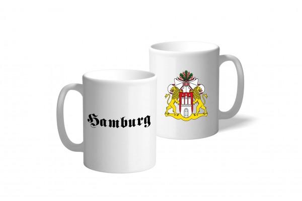 Tasse Wappen: Hamburg