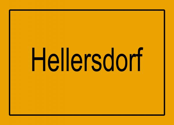 Aufkleber - Ortseingang Hellersdorf