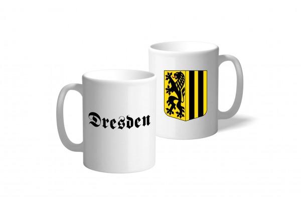 Tasse Wappen: Dresden