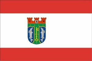 Flagge Treptow-Köpenick 150x90