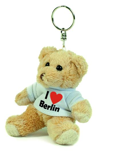 Teddy Schlüsselanhänger - I love Berlin