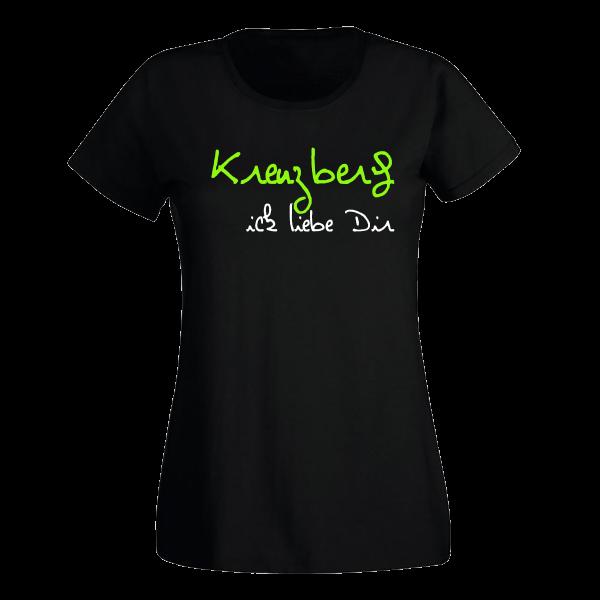 T-Shirt Kreuzberg Ick liebe dir für Frauen