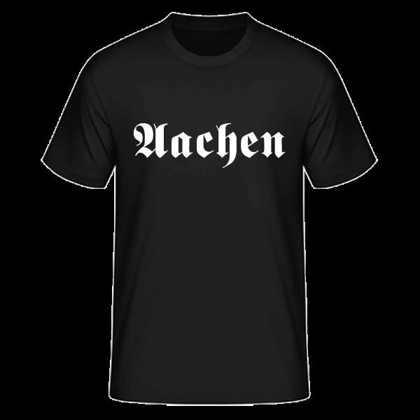 """Unisex T-Shirt Altdeutsch """"Aachen"""""""