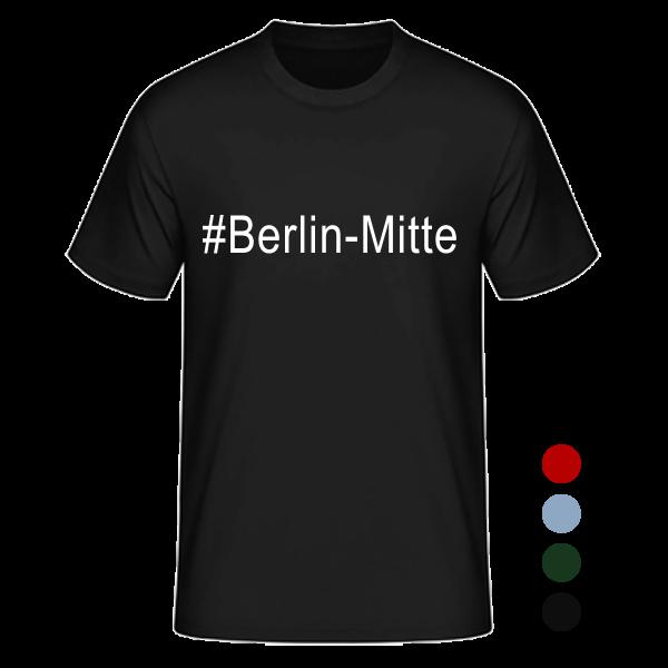 T- Shirt #Berlin- Mitte