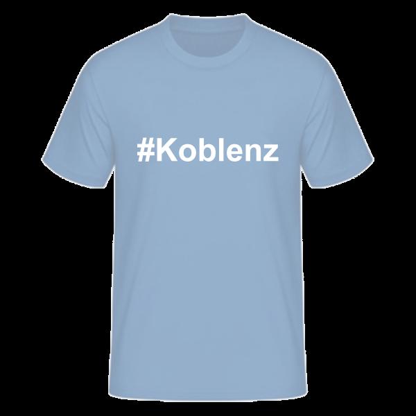 T-Shirt Kurzarmshirt #Koblenz