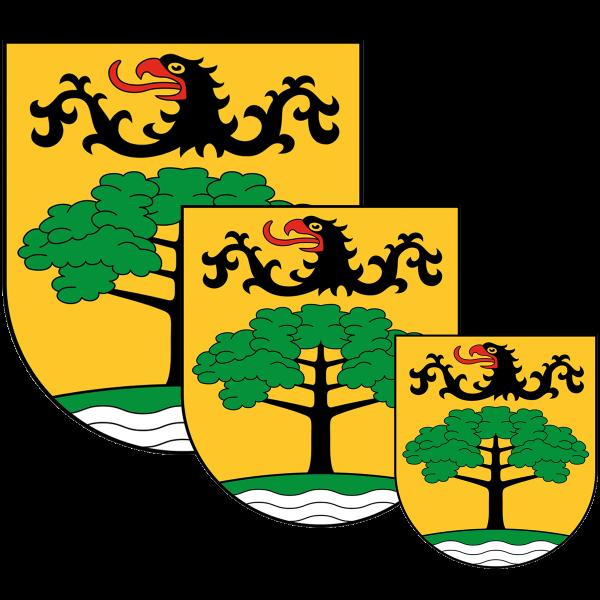 Aufkleber - Wappen Steglitz-Zehlendorf