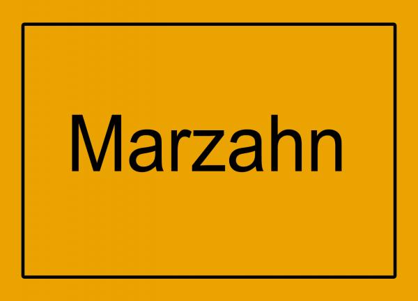 Aufkleber - Ortseingang Marzahn