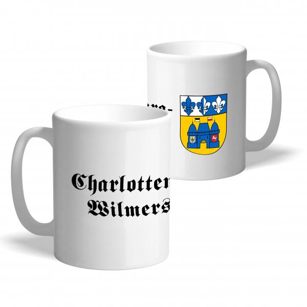 Tasse Wappen: Charlottenburg-Wilmersdorf