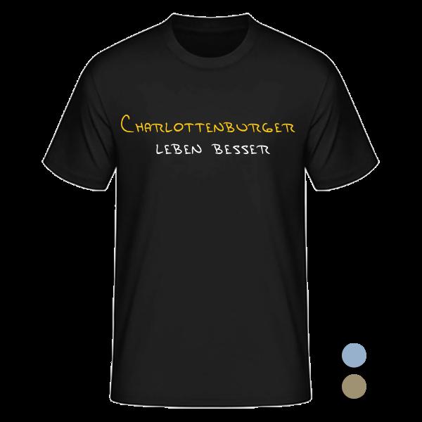 T-Shirt Charlottenburger leben besser