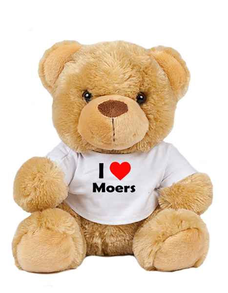 Teddy - I love Moers - Plüschbär Moers