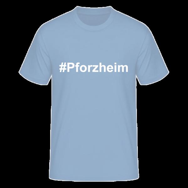 T-Shirt Kurzarmshirt #Pforzheim