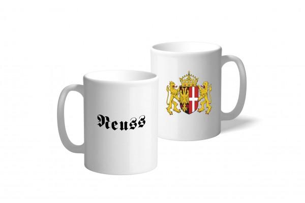 Tasse Wappen: Neuss