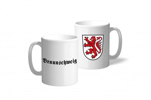 Tasse Wappen: Braunschweig