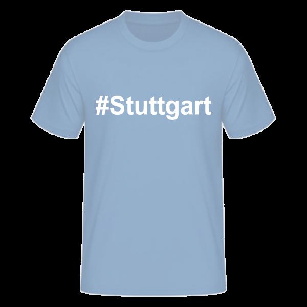 T-Shirt Kurzarmshirt #Stuttgart